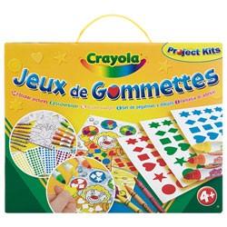 CRAYOLA JEUX DE GOMMETTES