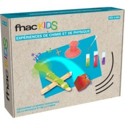 FNAC Kids Science4you Physique et Chimie Produit neuf.