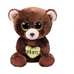 TY BEANIE BOO S SMALL - OURS MARRON PAR