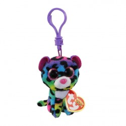 TY BEANIE BOO S CLIP - DOTTY LE LEOPARD