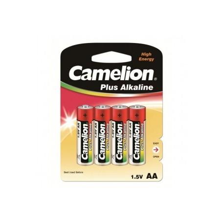 LR06 CAMELION+ PACK DE 4 PILES ALCALINE