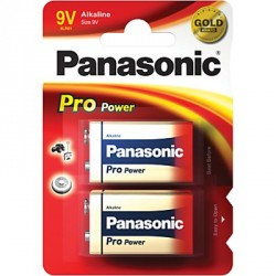 PANASONI PRO POW LR61 X2 (9V)