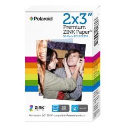 Papier photo pour Z2300 Polaroid 30 feuilles 2x3