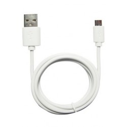 TEMIUM CABLE MICRO-USB 1M BLANC