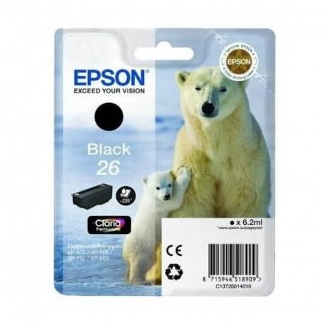 Cartouche d encre Epson Serie Ours Polaire 26 - Noire