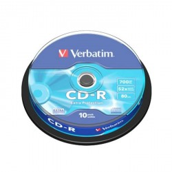 VERB CD-R SPINDLE 10 52X 700MB