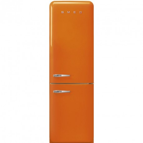 Réfrigerateur SMEG COMBINE POSE LIBRE A++ ORANGE