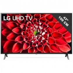 Téléiseur LED 4k 139 cm 55 pouces smart tv lg 55un711c