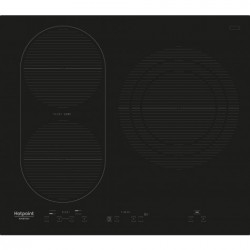 HOTPOINT IKID631BLTF Plaque de cuisson induction - 3 zones - 7200 W